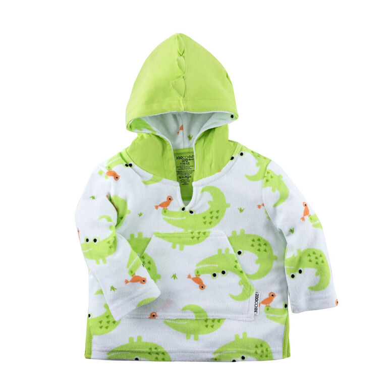 Zoocchini - Baby Swim Cover up - Alligator - 0-12M