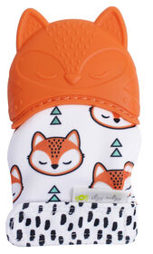 Itzy Ritzy Teething Happens Teething Mitt - Fox