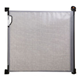 Dreambaby Indoor/Outdoor Retractable Gate - Grey