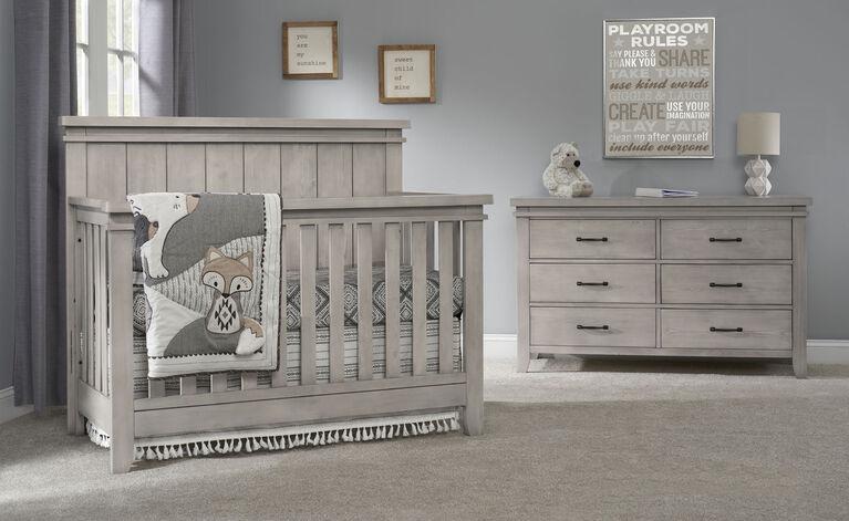 Sanibel 6-Drawer Dresser - Moon Dust - R Exclusive