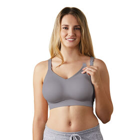 Body Silk Seamless Nursing Bra - Silver Belle, Extra Small