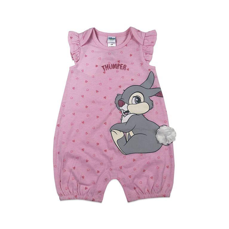 Disney Thumper barboteuse - rose, 18 mois.