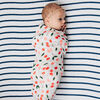 Red Rover - Cotton Muslin Swaddle Single - Cherries - R Exclusive
