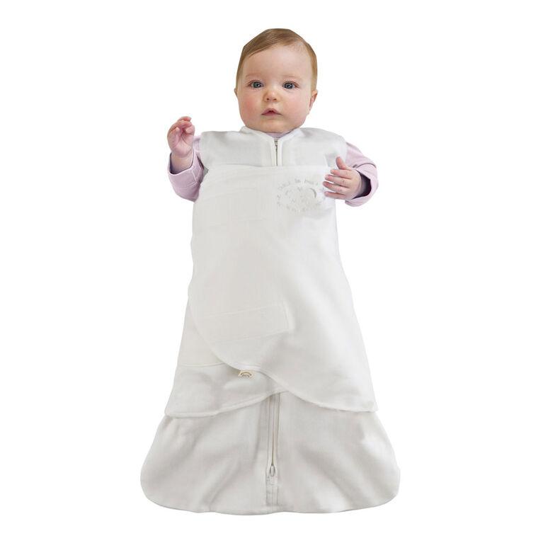 HALO SleepSack Swaddle Organic Cotton - Cream - Newborn