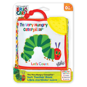 Eric Carle The Very Hungry Caterpillar Let's Count Soft Book