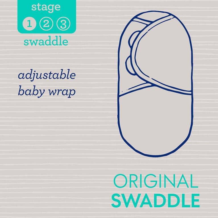 SwaddleMe 3 Pack Original Swaddle ELEPHANT STRIPES