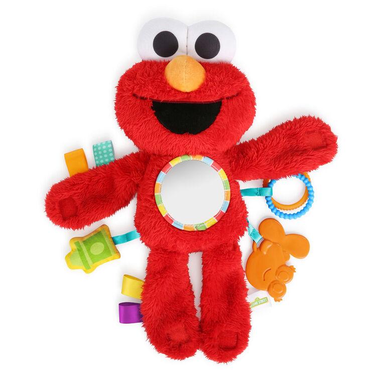 Bright Starts Elmo Travel Buddy On-the-Go Plush Attachment