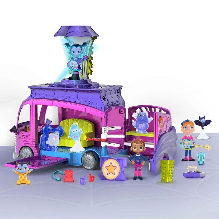 Bus de Tournée Rock N' Jam de Vampirina