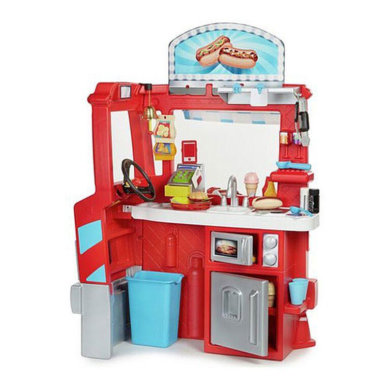 Little Tikes - Camion-restaurant 2 en 1. - Notre Exclusivité