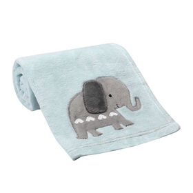 Bedtime Originals - Jungle Fun Baby Blanket - Blue