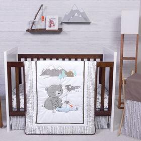 Gone Fishing 3 Piece Crib Bedding Set