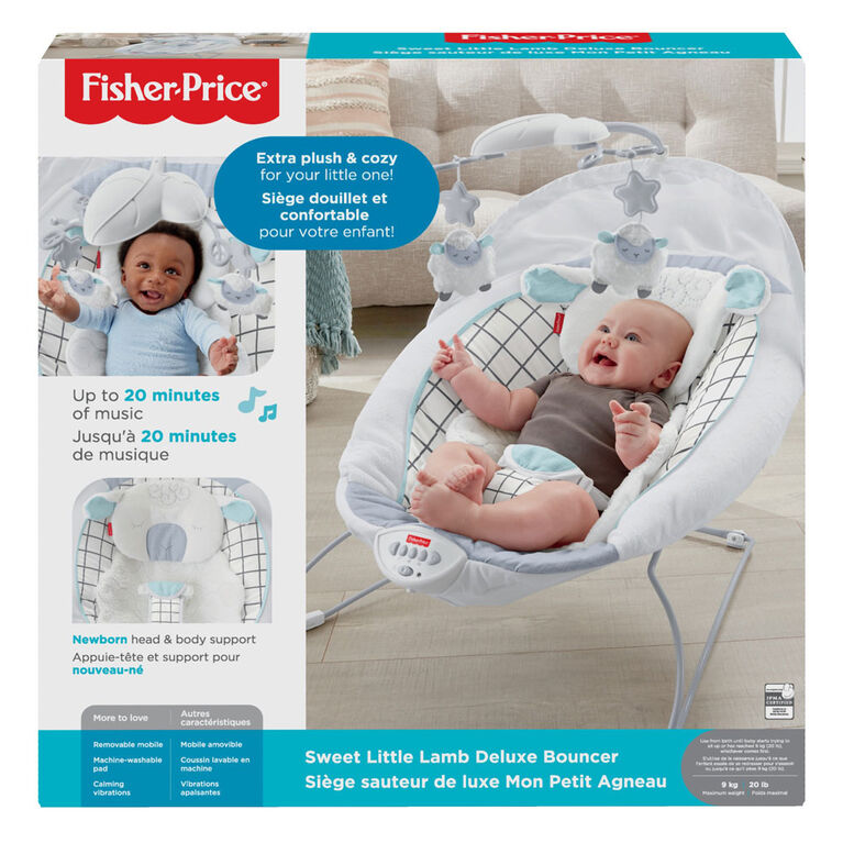 Fisher-Price Sweet Little Lamb Deluxe Bouncer