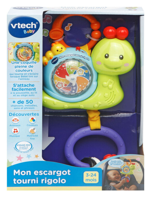 Light & Spin Tug-a-Bug - French Edition
