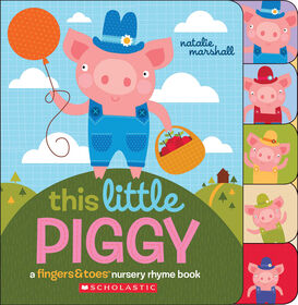 This Little Piggy Nursery Rhyme Book - English Edition