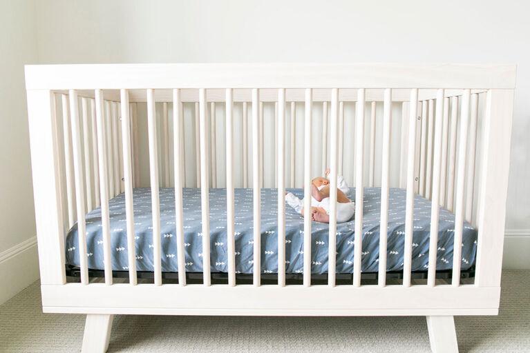 Copper Pearl North Premium Crib Sheet