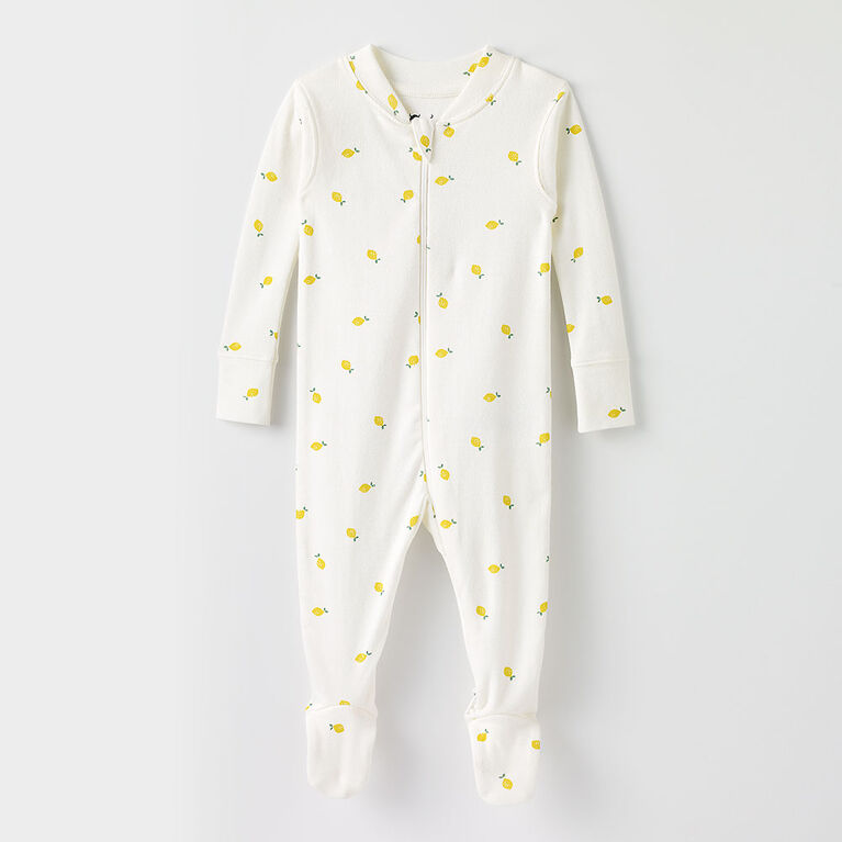 happy dream organic sleeper, 12-18m - white lemon