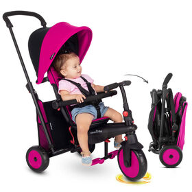 smarTrike STR3 - tricycle pliant bébé - Rose