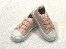 Tickle toes - Pink Hard Sole Shoe - size 3