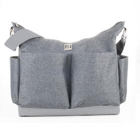 Ryco Autumn Scoop Design Tote Diaper Bag - Grey