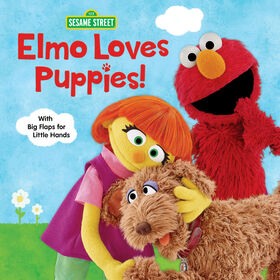 Elmo Loves Puppies! (Sesame Street) - Édition anglaise