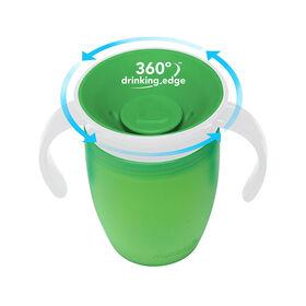 Munchkin – Tasse d'apprentissage Miracle 360° - vert.