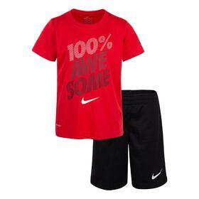 Nike Ensemble de Short - Noir, 12 mois.