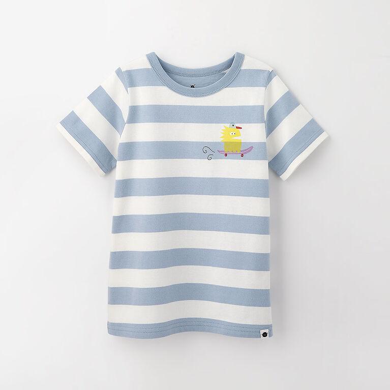 little styler graphic tee, 18-24m - light blue