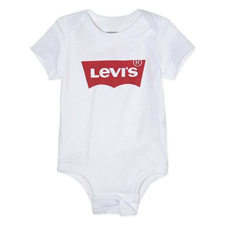 Levis Bodysuit - White, 9 Months