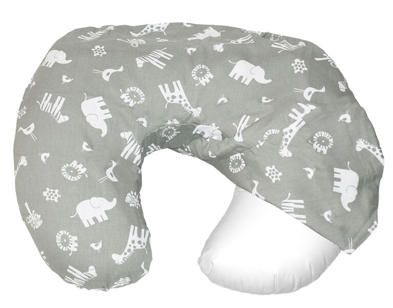 Jolly Jumper Baby Sitter Slip Cover - Animals/Grey