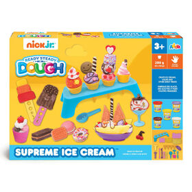 Nick Jr Ready Steady Dough - Coffret Supreme Ice Cream - Notre exclusivité - Notre exclusivité