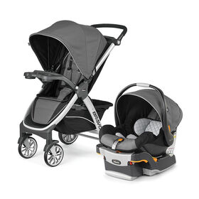 Chicco Bravo Trio System with KeyFit 30 Infant Car Seat - Orion