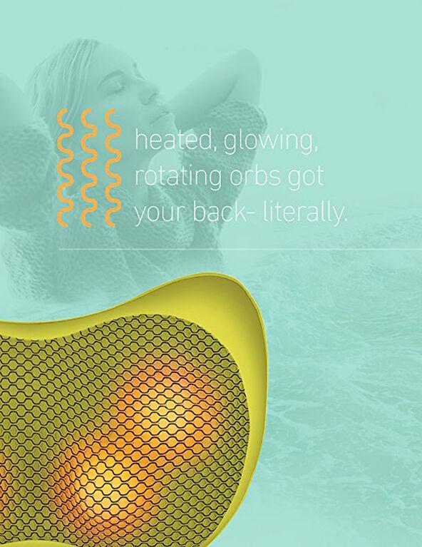 Yellow heat Shiatsu Massage Pillow