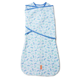 SwaddleMe Arms Free 1PK Convertible Swaddle Wrap LIL OFF ROADER STAGE 2