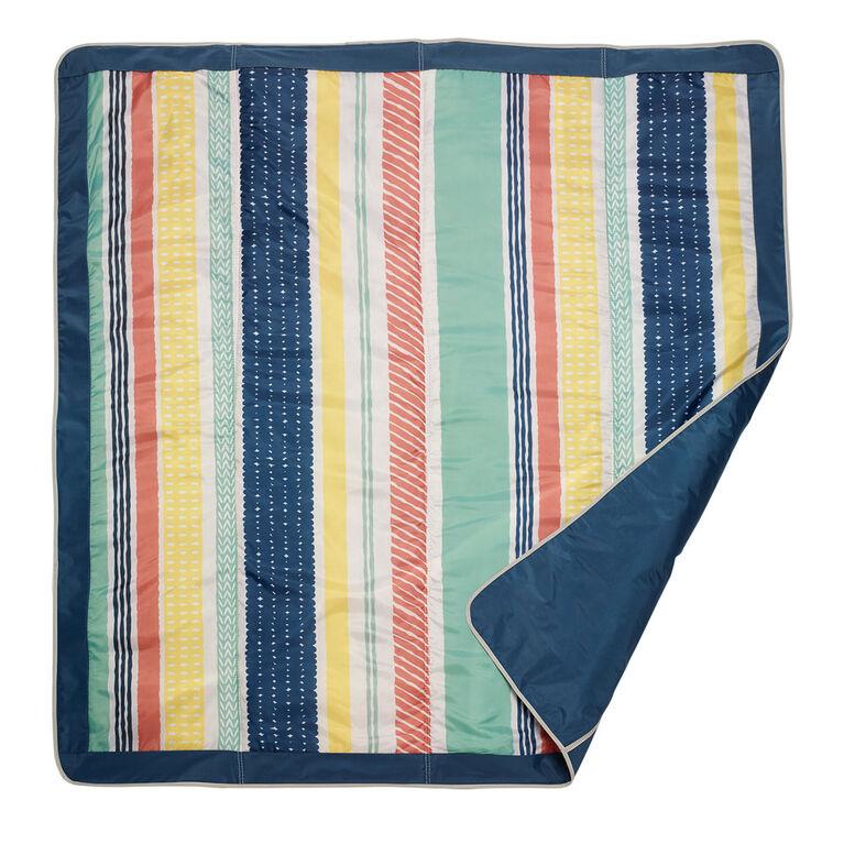 JJ Cole Essentials Outdoor Mat - Peruvian Stripe