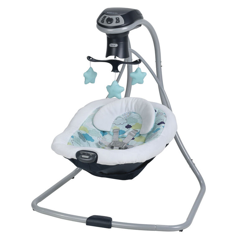 Balancoire Simple Sway LX multi direction de Graco - Stratus.