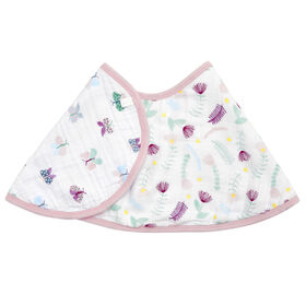Aden Essentials - Floral Fauna Single Burpy Bib