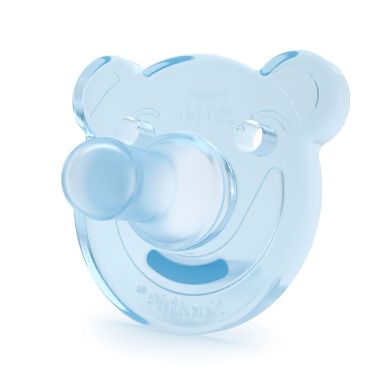 Philips AVENT soothie - ours, 2-paquet, 0-3mois - vert/bleu.