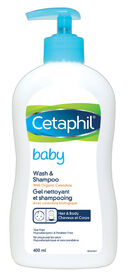 Cetaphil Baby Gel nettoyant et shampooing 400 ml.