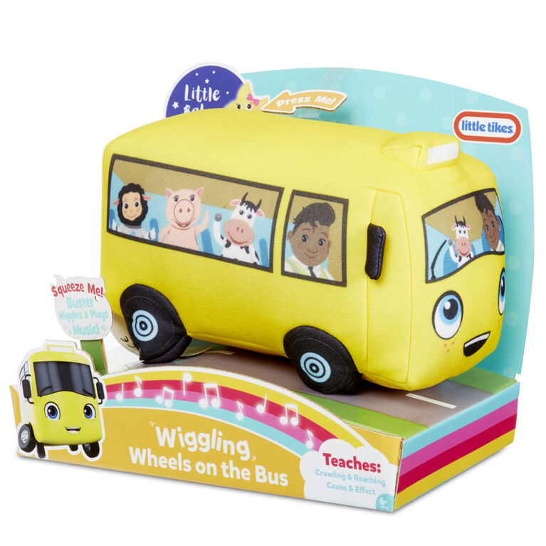 Peluche officielle Little Baby Bum Roues vacillantes de l'autobus