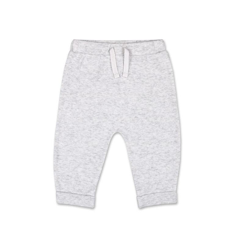 Pantalon de sport ample Koala Baby gris chiné - 12 mois