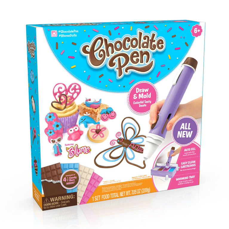 Chocolate Pen - Draw In Chocolate and DIY Your Own Baking Creations!