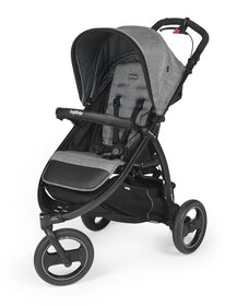 Peg-Perego Ex-Book Cross Travel System - Cinder - R Exclusive