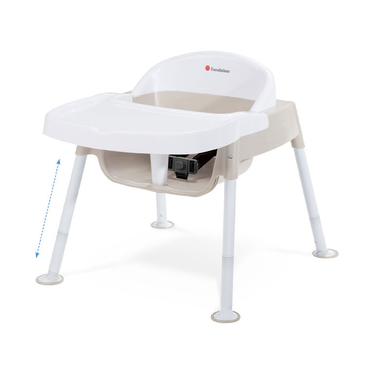 Foundations Secure Sitter Premier Adjustable Feeding Chair 7, 9, 11 & 13 Seat Height, 3 pack