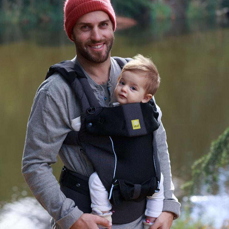 Porte-bébé Lillebaby Pursuit All Seasons - Graphite.