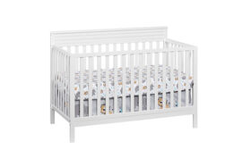 Oxford Baby Skyler 4in1 Convertible Crib Snow White - R Exclusive