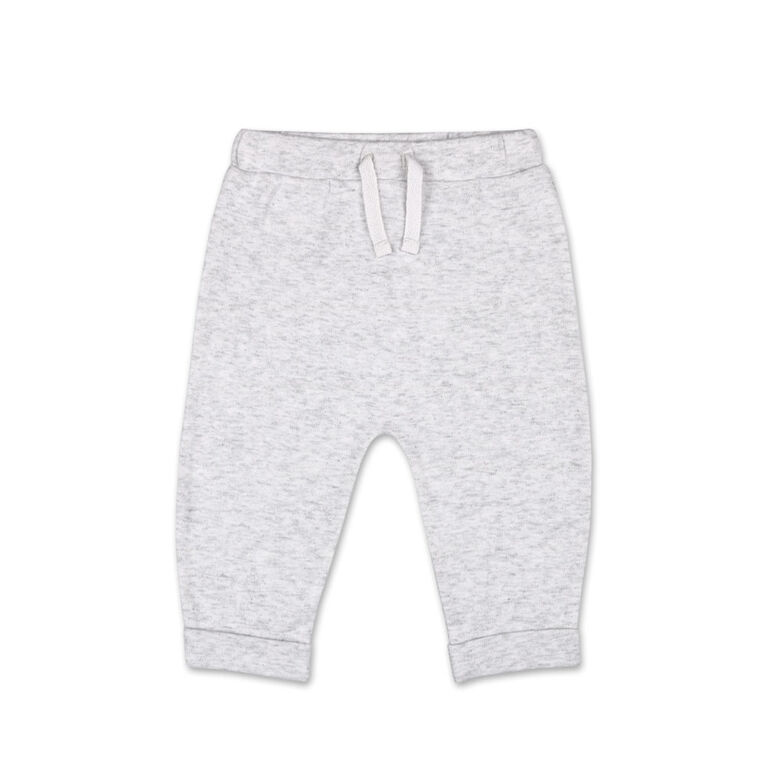 Koala Baby Slouch Jogger Pant, Heather Grey - 0-3 Months