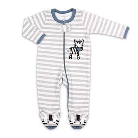 Koala Baby Sleeper, Grey Stripe Zebra - Preemie