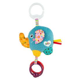 Le jouet Clip & Go de Lamaze Eloi l'éléphant
