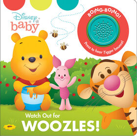 1 Button Sound Book Disney Baby Winnie The Pooh: Watch Out For Woozles! - English Edition