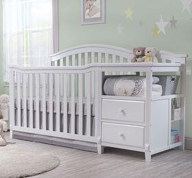Sorelle Berkley Crib & Changer - White